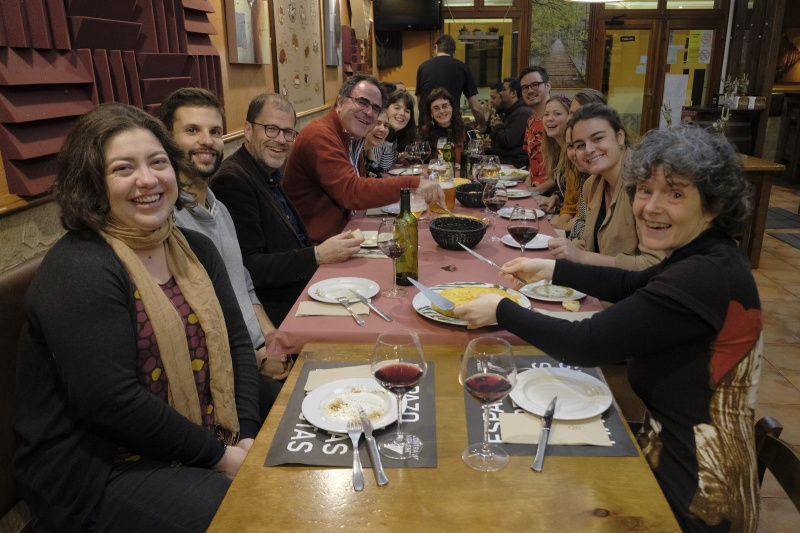 Second EuMIGS double degree cohort meets in A Coruna